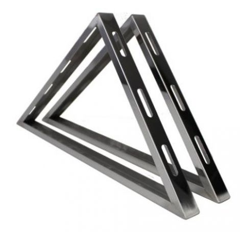 "4"" Double wall base wall support brackets"